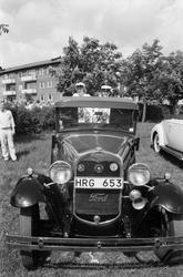 Studentexamen på Fässbergsgymnasiet i Mölndal, år 1985.  F