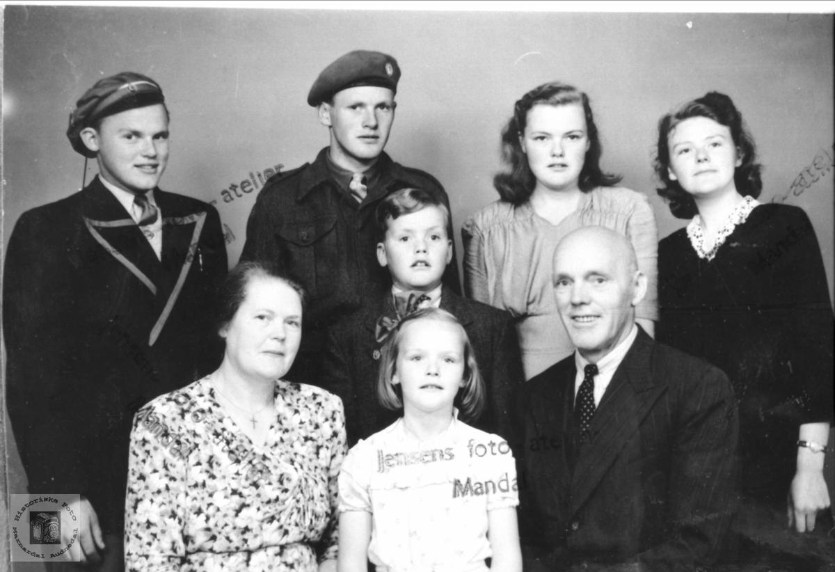 Fam Fredrikrandi Skuland Historiske Foto Marnardal Og Audnedal