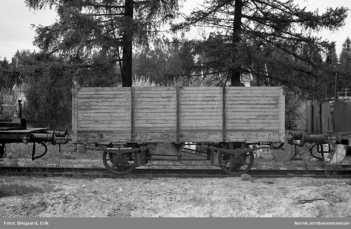Godsvogn fra Hafslundbanen, opprinnelig fra Kongsvingerbanen
