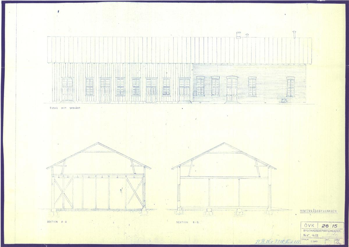Byggnadsritning
