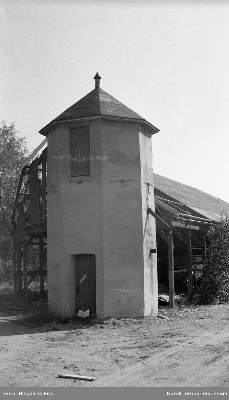 Vanntårn på Bjørkelangen stasjon