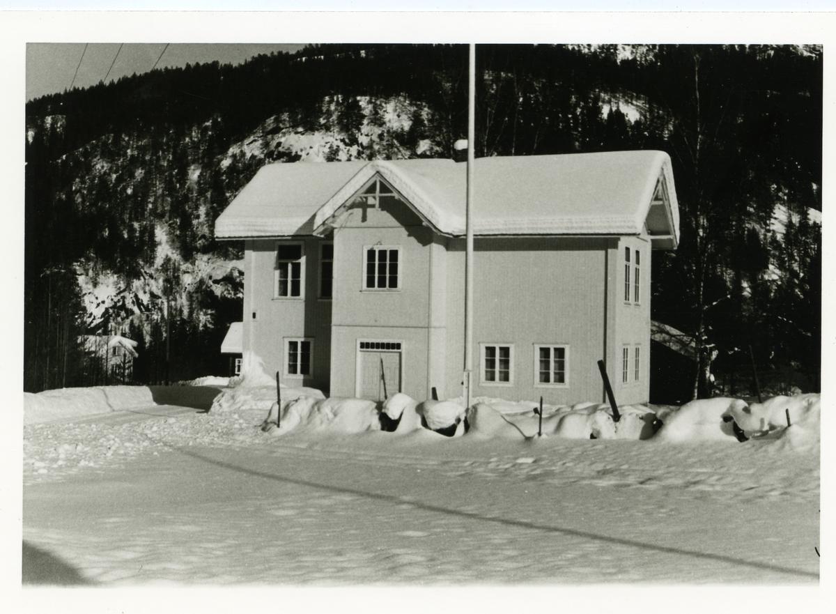 Kyrkjebøen gamle skole Bagn i Sør-Aurdal, Valdres.