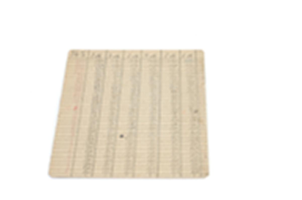 Form: rektangulære, A er brettet på midten
