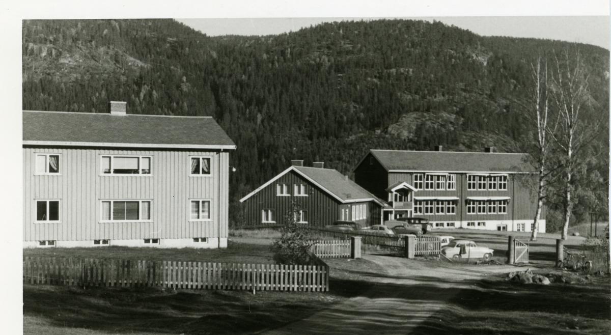Begnadalen skole i Sør-Aurdal i Valdres. Skolen ble reist mellom 1953-1957.