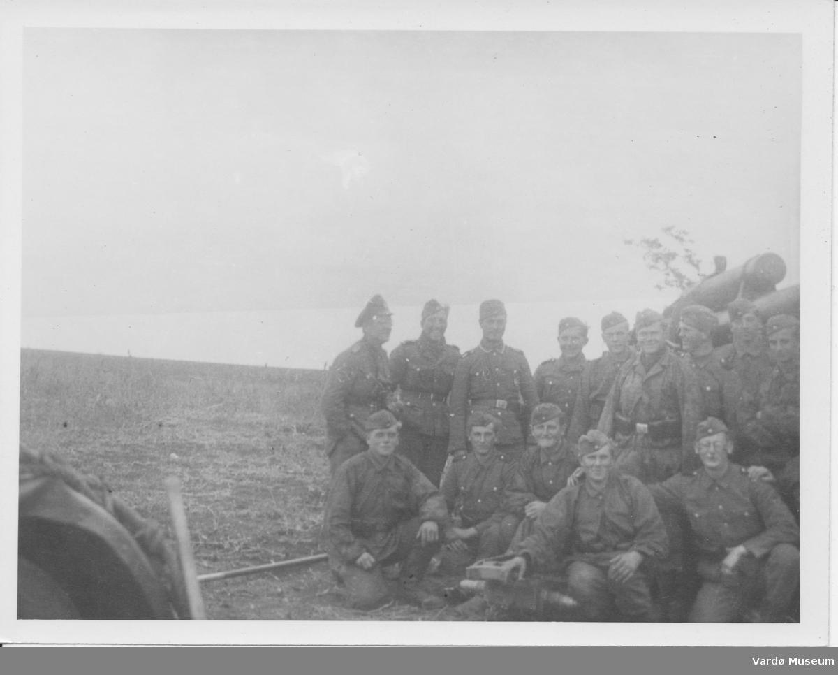 Soldater fra Wehrmacht. Sør-Varanger - Petsjenga (Petsamo) (?) 1944