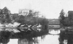 Tømmereksportfirmaet Blakstad, Holta & Co. Gydas gate i Skie