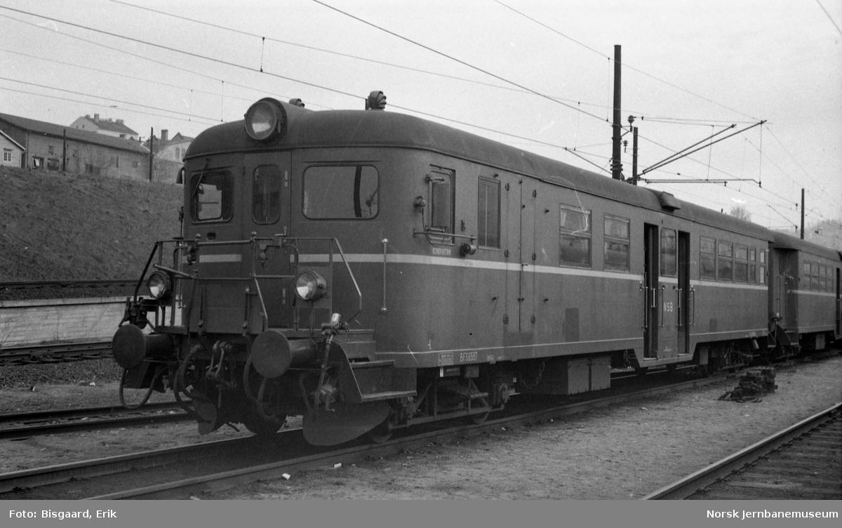 Styrevogn for motorvogntog BFS 65 97 i Lodalen