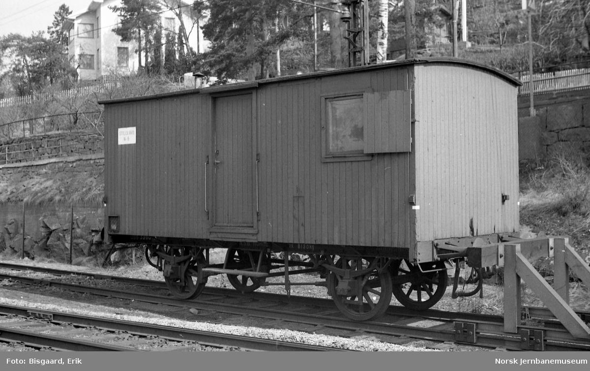 Internvogn litra X nr. 3308 i Lodalen