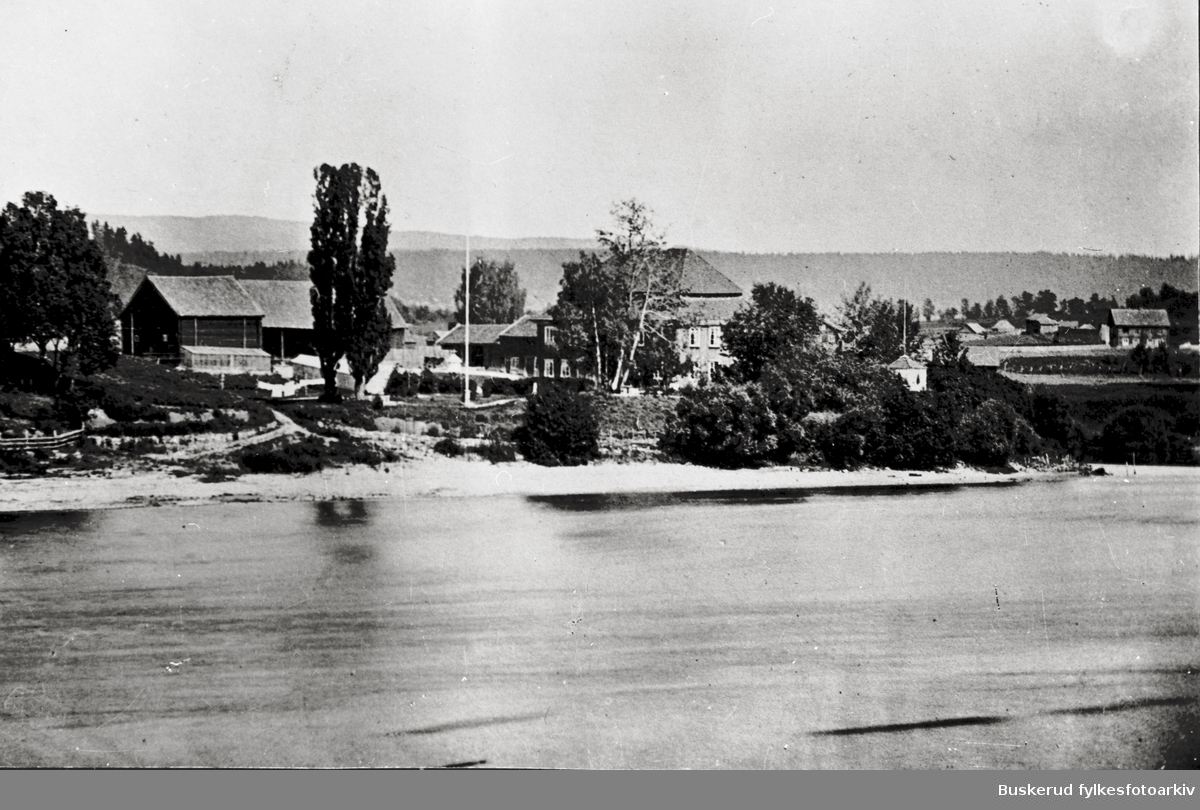 Ole Martin Peder Væring  Glatved før ombyggingen i 1870  1860