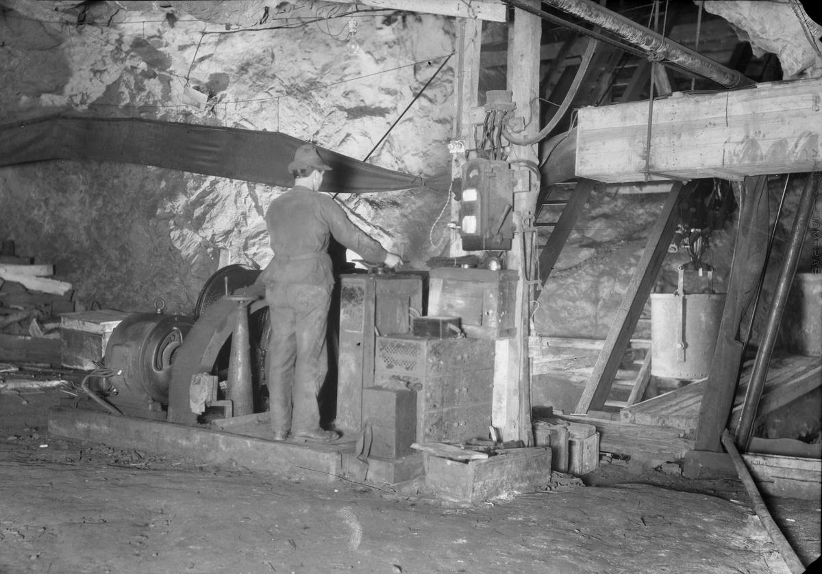 Arbeid i gruva.