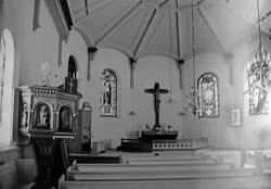 """Enligt text: """"Kungshamns kyrka""""."""