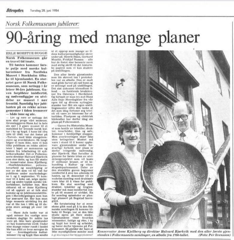 Aftenposten 1984 (Foto/Photo)