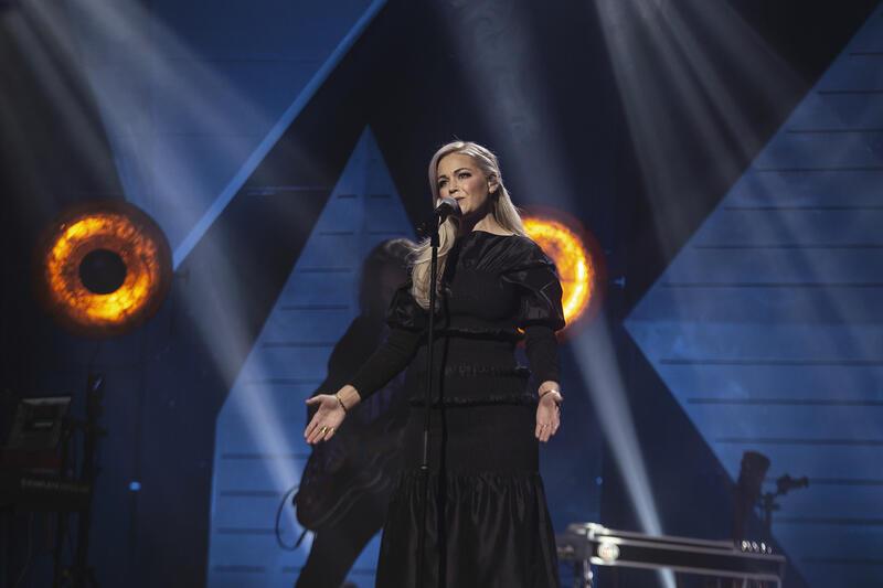 Maria Haukaas Mittet og Madeleine Ossum hyllet Halvdan Sivertsen. Foto: Geir Mogen / Rockheim (Foto/Photo)