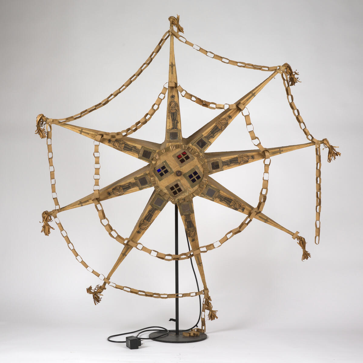 Stjerne laget i Bergen på bestilling av Norsk Folkemuseum i 1896 (Foto/Photo)