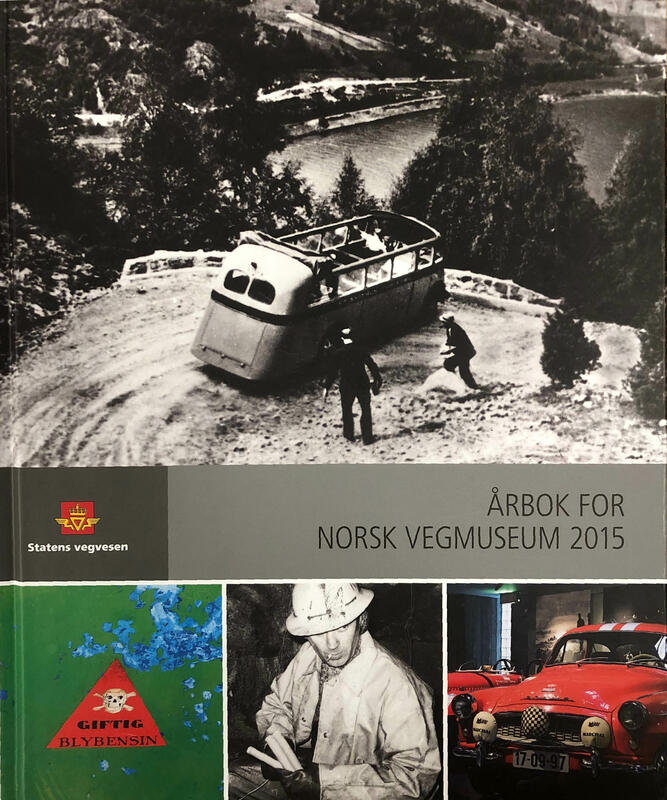 Forside: Årbok for Norsk vegmuseum (Foto/Photo)