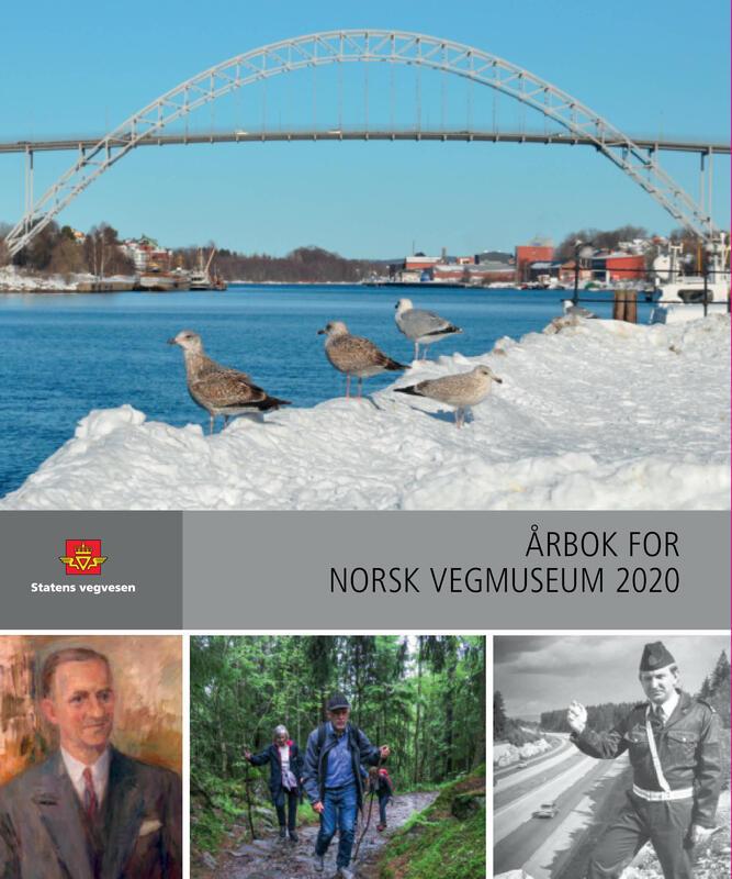 Forside: Årbok for Norsk vegmuseum 2020 (Foto/Photo)