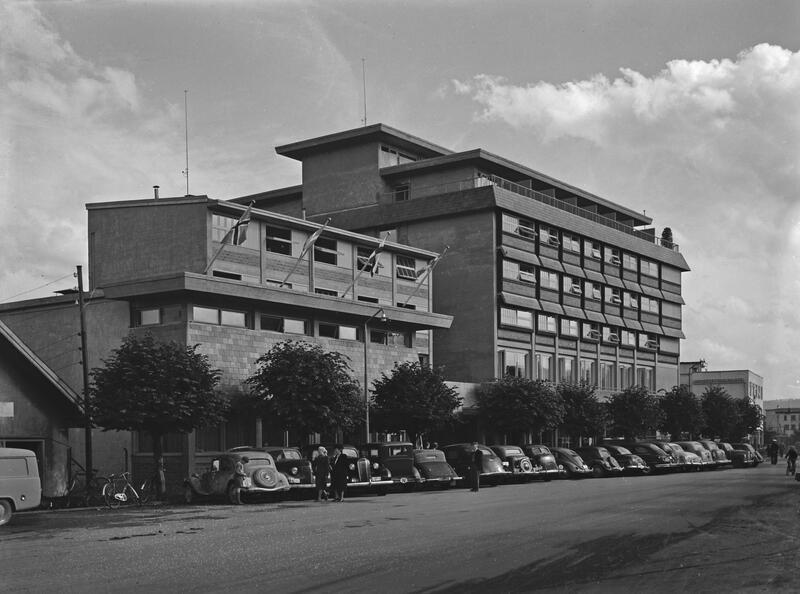 Strand Hotell, Gjøvik, 1951. Foto: Mjøsmuseet. (Foto/Photo)