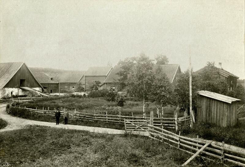 Gamle Hvam ca 1895 (Foto/Photo)