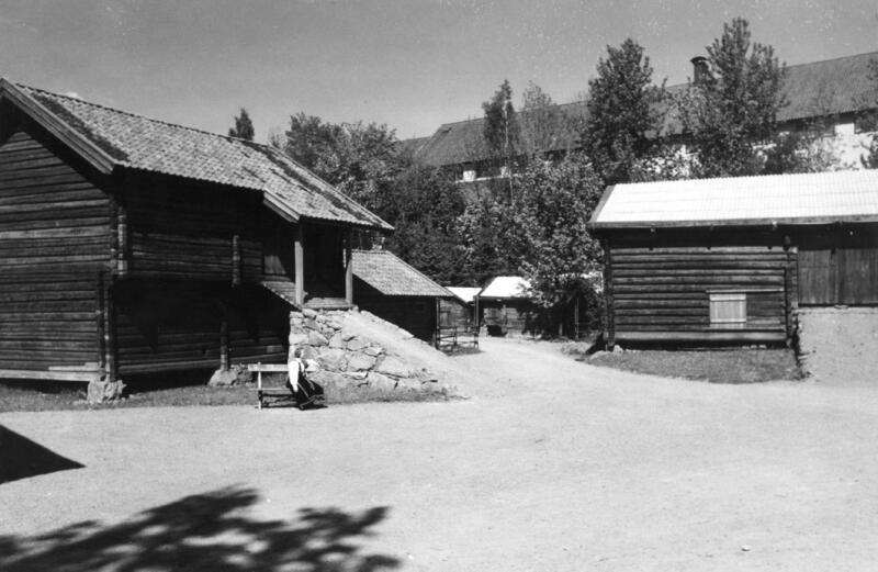 Telemarkstunet, fotografert i 1947. (Foto/Photo)