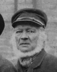 Hytteknekt Syvert N. Hellerud (1820-1909) (Foto/Photo)
