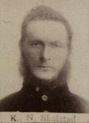 Løshauer Kristian N. Skalstad (1850-1927) (Foto/Photo)