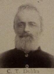 Benkeslemmer Christen T. Dokka (1827-1897) (Foto/Photo)