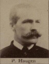 Sjakthauer Peder J. Haugen (1856-1927) (Foto/Photo)