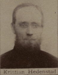 Borhauer Kristian J. Hedenstad (1836-1903) (Foto/Photo)