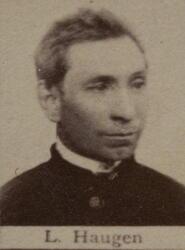 Borhauer Lars G. Haugen (1846-1892) (Foto/Photo)