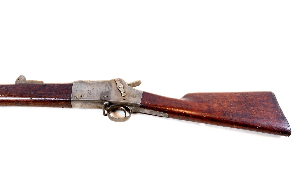 Merkinger: Låskassens høyre side, låskassens venstre side. Merket 1879.