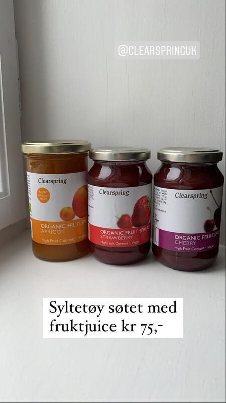 Syltetøy søtet med fruktjuice kr 75,- (Foto/Photo)