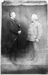 Helfigurs portrett av premierløytnant Iversen (antatt Fredri