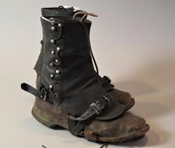 Støvler med gamasjer