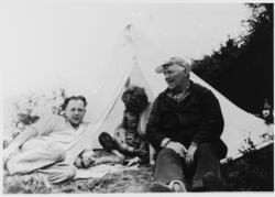 Landskytterstevnet på Ulven (Bergen), 1957.