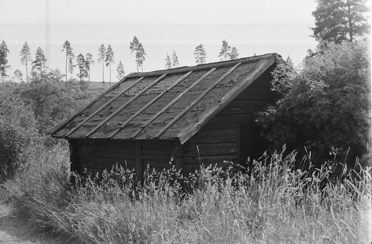 Fähus, Ekeby 7:1, Kvarntorp, Vänge socken, Uppland 1975