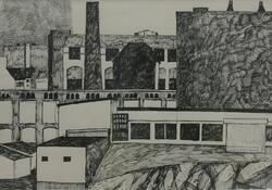 Bebyggelse, Berlin [Tegning]