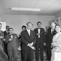 Invigning av Astrogeodetiska observatoriet, Uppsala 1962