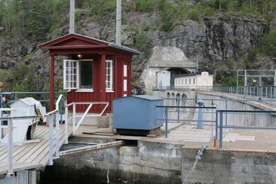 Haldenkanalen, Brekke sluser. Foto/Photo