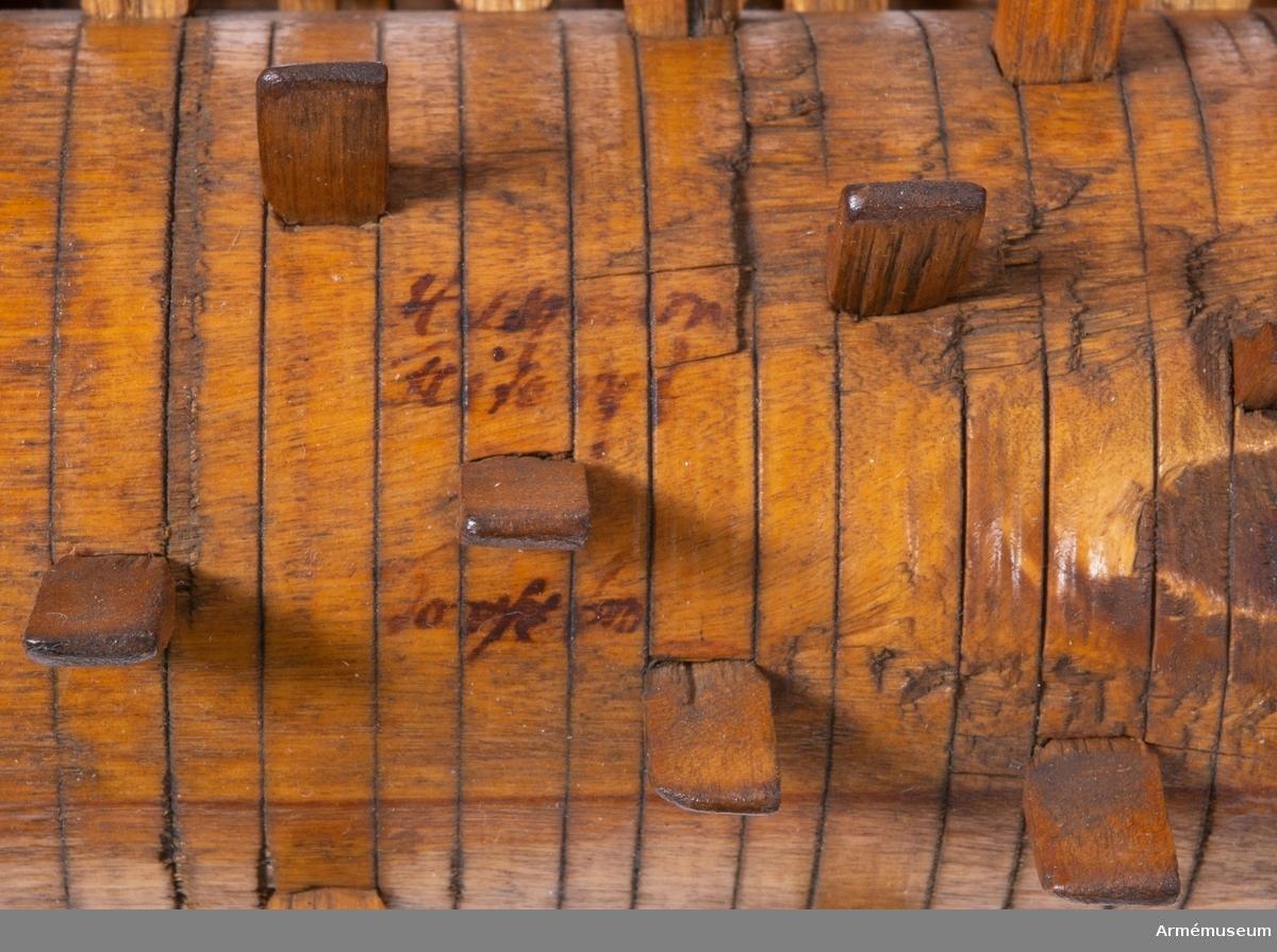 Grupp F V.  1650-1750. Ska drivas med handkraft.