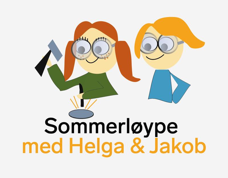 Norsk Bergverksmuseums Sommerløype med Helga og Jakob (Foto/Photo)