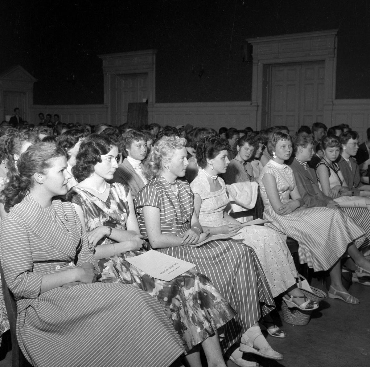 Siste avslutningsfest ved Trondhjems Borgerlige Realskole