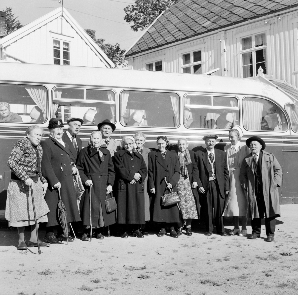 Strinda aldershjem på busstur til Selbu