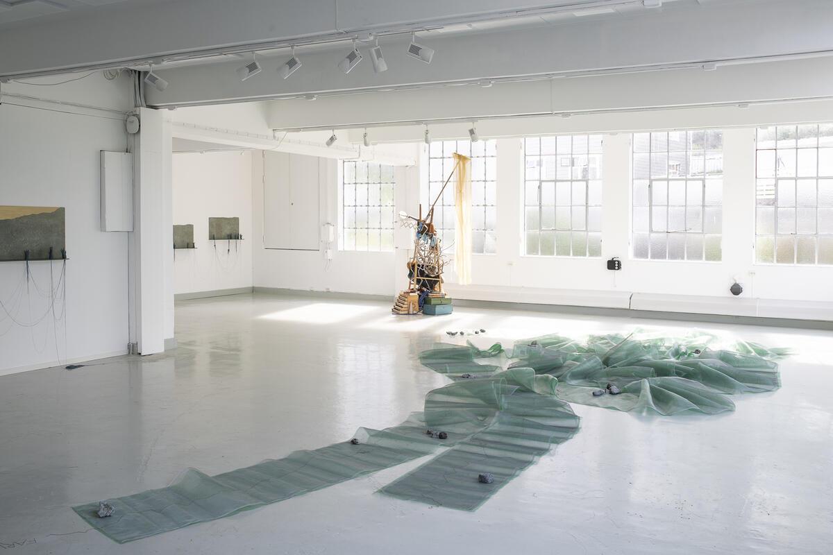 Utstillinga Ferd av Aud Bækkelund (2021) (Foto/Photo)