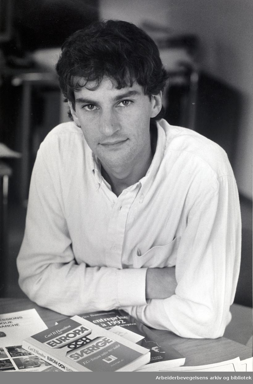 Jonas Gahr Støre, september 1988