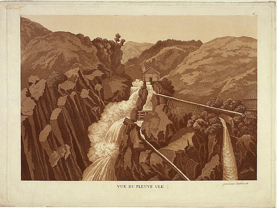 Ulaelven ved Sel i Gudbrandsdalen [Opplagstrykk]