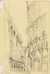 Gateparti, New York [Tegning]