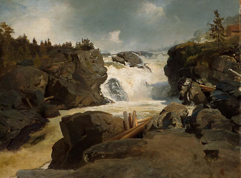 Labrofossen [Maleri]
