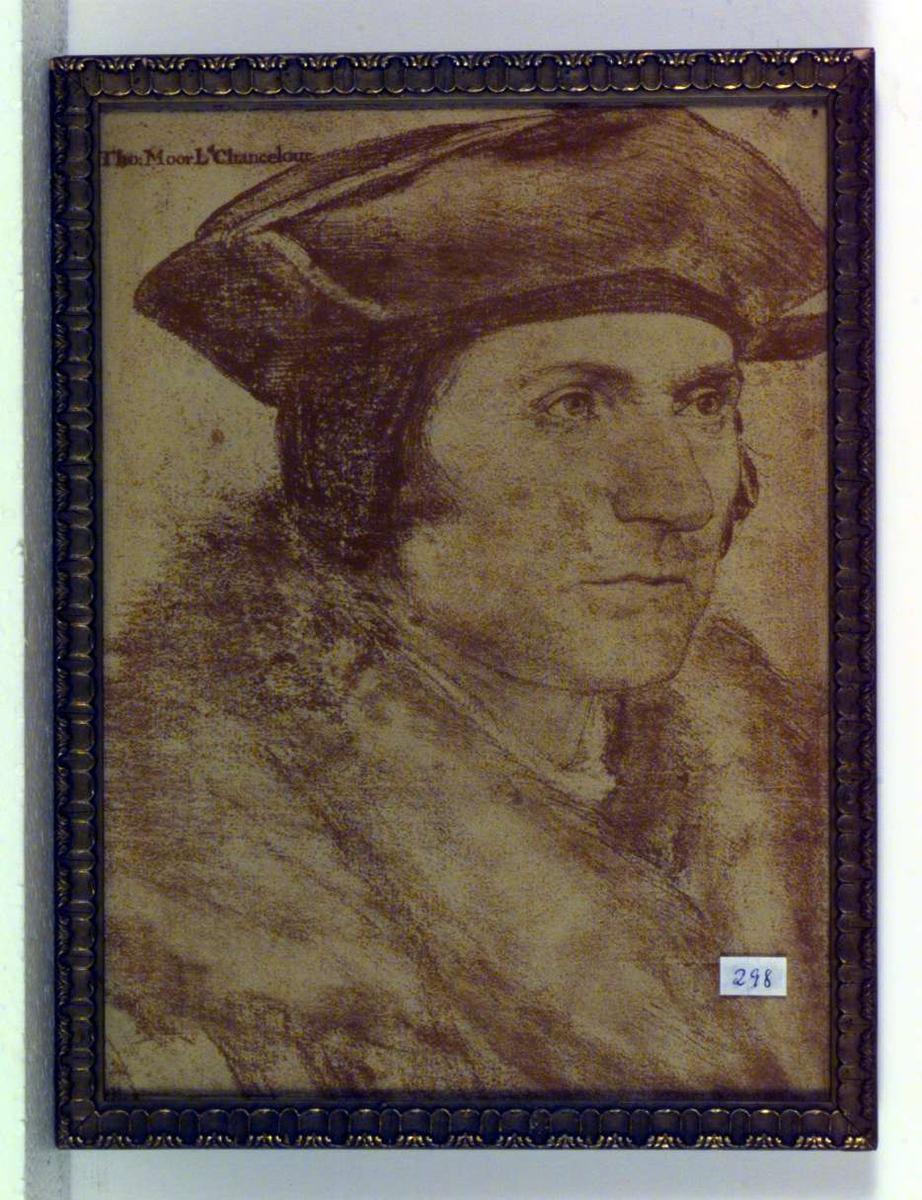 Portrett av Thomas More(1478-1535), britisk statsmann og forfatter.