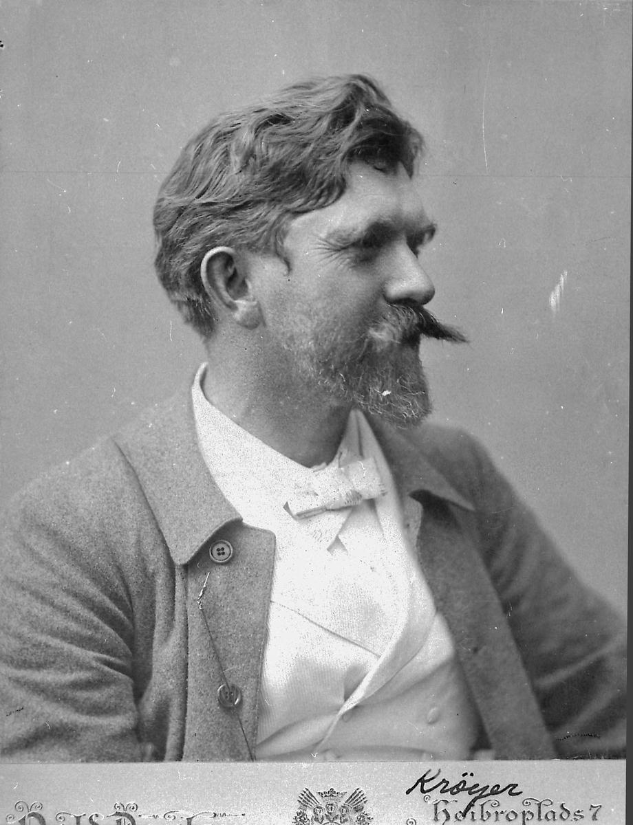 Kunstner, bart, mann, P.S. Krøyer