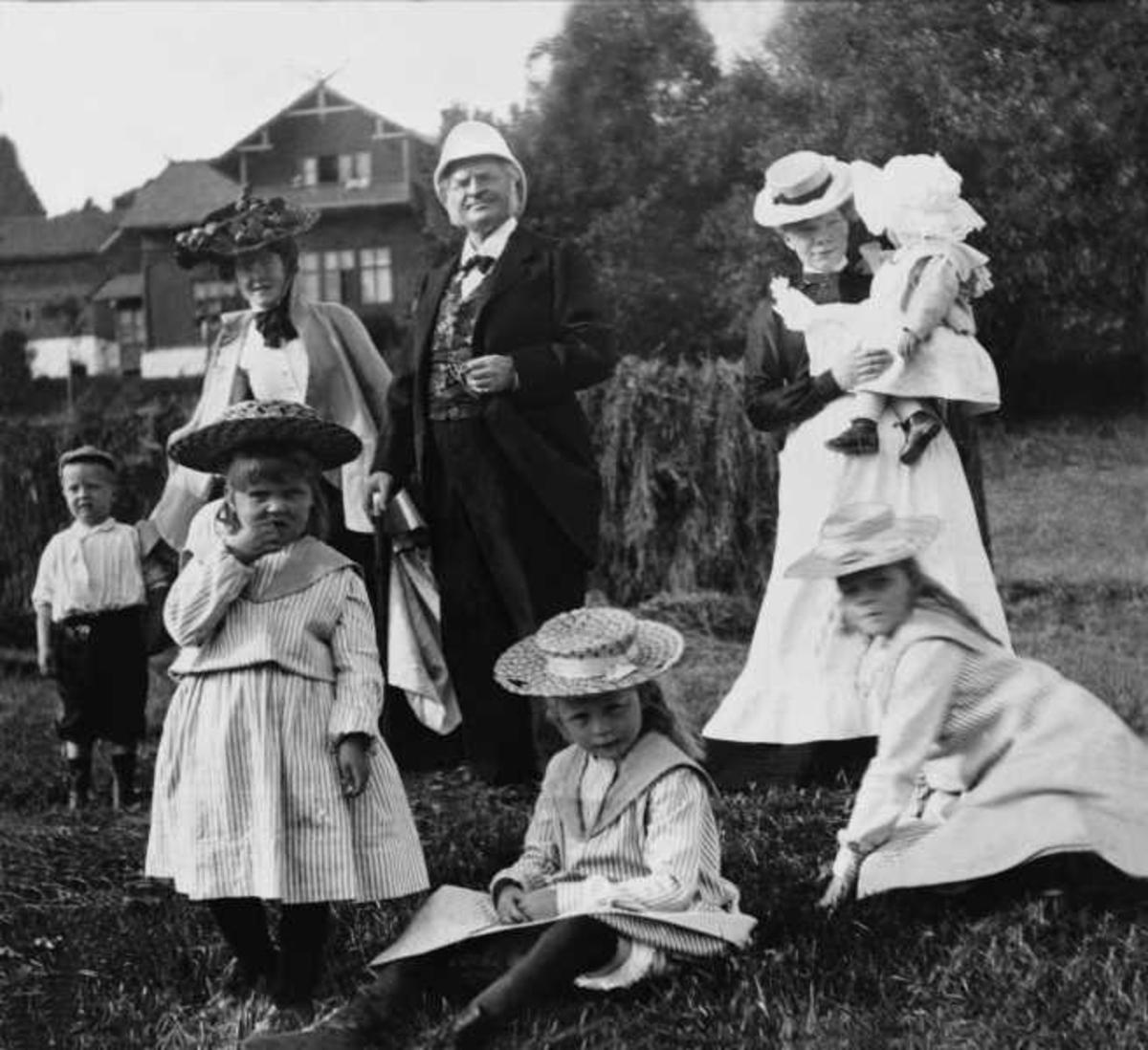 Bjørnson, Aulestad, Dagny, barnebarn, tjenestepike,
